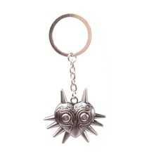 NINTENDO Legend of Zelda Majora's Mask Metal Keychain - One Size (Silver)