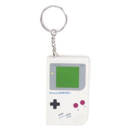NINTENDO Original Rubber Gameboy Keyring (Multi-Coloured)