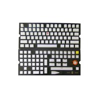 Tai-Hao PBT Backlit Double Shot Keycap Set (Pure White) US+UK