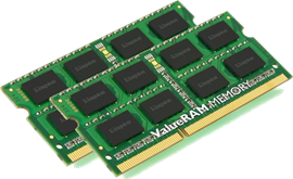 Kingston ValueRAM 16GB (2x 8GB) 1600MHz DDR3 RAM
