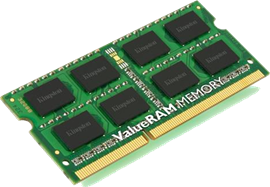 Kingston ValueRAM 8GB (1x 8GB) 1600MHz DDR3 RAM