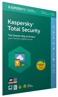 Kaspersky Total Security 2019 3 Dev, 1 Yr FFP