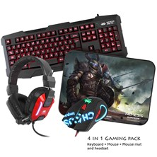 Sumvision Nemesis Kane Pro Edition Pack w/ Keyboard, Mouse, Mouse Mat & Headset *Open Box*