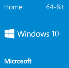 Microsoft Windows 10 Home - 64-Bit DVD (OEM)