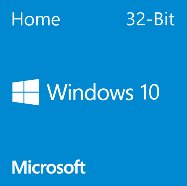Microsoft Windows 10 Home - 32-Bit DVD (OEM)