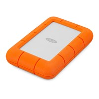 LaCie Rugged Mini 5TB Mobile External Hard Drive in Orange - USB3.0