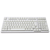 Leopold FC980M USB Mechanical Keyboard (White) with Cherry MX Red Switches