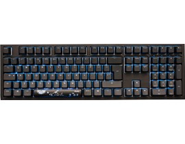 Ducky Shine 7 Blackout Edition RGB Mechanical Keyboard with Cherry MX Blue Switches