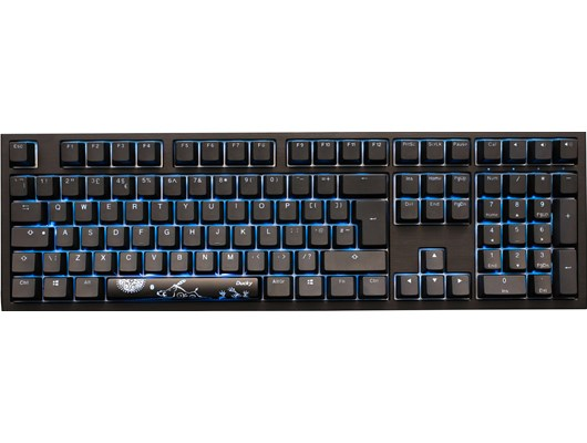 Ducky Shine 7 Blackout Edition RGB Mechanical Keyboard with Cherry MX Brown Switches