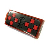 AvP ABS 8 Key Octopus Red Rubber Gaming Pack with Key Puller