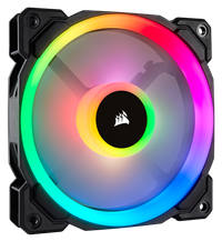 Corsair LL120 Dual Light Loop PWM Fan (120mm) RGB LED  *Open Box*