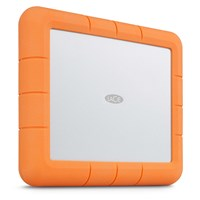 LaCie Rugged RAID Shuttle 8TB Desktop External Hard Drive in Orange
