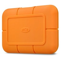 LaCie Rugged SSD 1TB Mobile External Solid State Drive in Orange