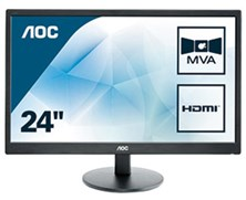 "AOC M2470SWH 23.6"" Full HD LED Monitor"