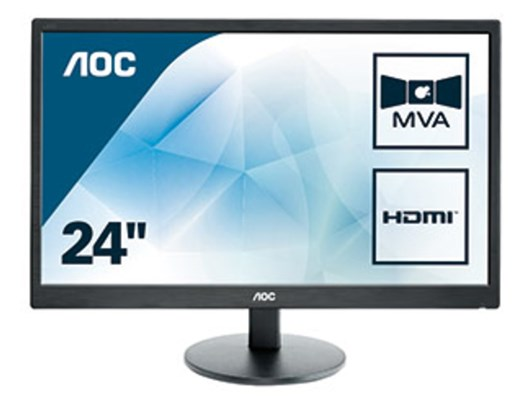 "AOC M2470SWH 23.6"" Full HD VA Monitor"