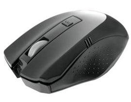 Dynamode Compoint M360W Wireless 1600dpi Optical Mouse with Nano Adapter, Black