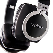 Veho 360 Z8 Designer Aluminium Headphones with Flex Cable