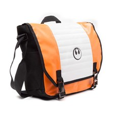 STAR WARS Resistance Logo Messenger Bag - One Size (Orange/Black)