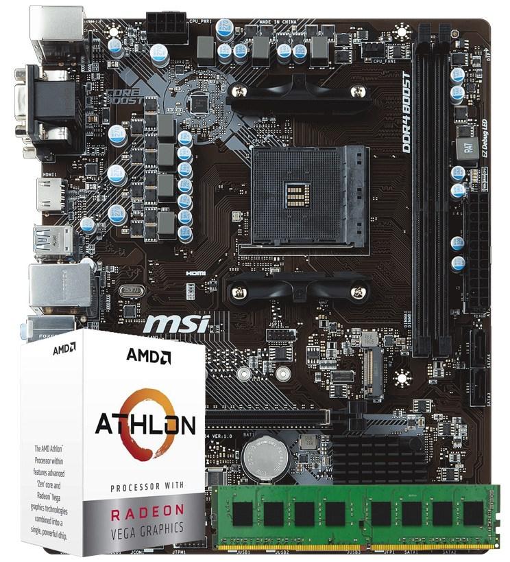 CCL Alpha AMD Motherboard Bundle
