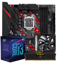 CCL Gamer Intel Core i3 Motherboard Bundle