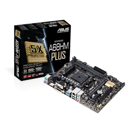 ASUS A68HM-Plus AMD Socket FM2+ Motherboard