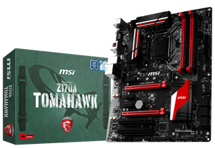 MSI Z170A TOMAHAWK Intel Socket 1151 Motherboard