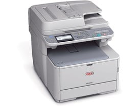 OKI MC363dn (A4) Colour LED Ethernet Multifunction Printer (Print/Copy/Scan/Fax) 1GB Backlit LCD 30ppm (Mono) 26ppm (Colour) 45,000 (MDC)