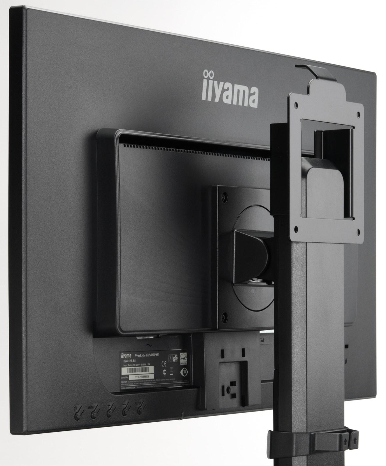Iiyama Vesa Mount Bracket Black For Small Form Factor Pc