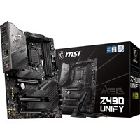 MSI MEG Z490 UNIFY ATX Motherboard for Intel LGA1200 CPUs