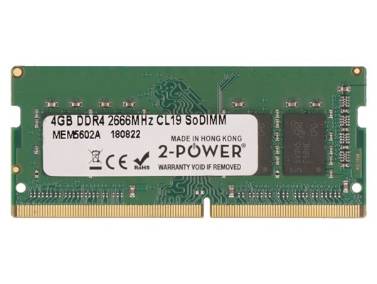 2-Power   4GB (1x 4GB) 2666MHz DDR4 RAM