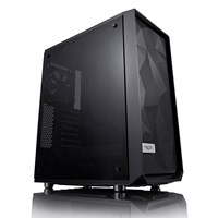 Fractal Design Meshify C Mid Tower Gaming Case - Black USB 3.0