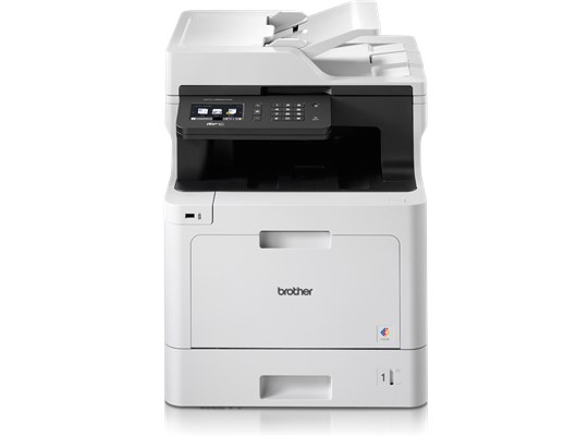 Brother MFC-L8690CDW (A4) Wireless Colour Laser Multifunction Printer (Print/Copy/Scan/Fax) 512MB 9.3cm Colour LCD 31ppm (Mono) 31ppm (Colour) 3,000 (MDC)