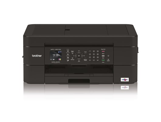 Brother MFC-J491DW (A4) Multifunction Wireless Colour Inkjet Printer (Print/Copy/Scan/Fax)