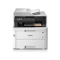 Brother MFC-L3750CDW (A4) Multifunction Colour LED Laser Printer (Print/Copy/Scan/Fax) 512MB 9.3cm Colour LCD 24ppm