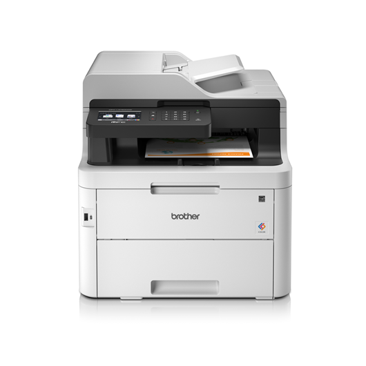 Brother MFC-L3750CDW (A4) Colour LED Multifunction Printer (Print/Copy/Scan/Fax) 512MB 9.3cm Colour LCD 24ppm