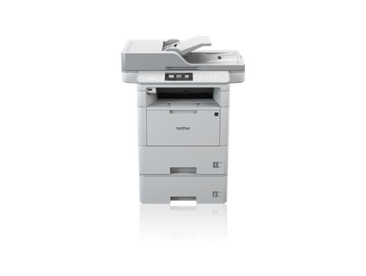 Brother MFC-L6900DWT High Speed All-in-one Mono Workgroup Laser Printer with Additional Paper Tray