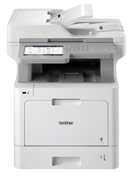 Brother MFC-L9570CDW (A4) Colour Laser Multifunction Printer (Print/Copy/Scan/Fax) 1GB 17.6cm LCD Touchscreen 31ppm (Mono) 31ppm (Colour) 6000 (MDC)