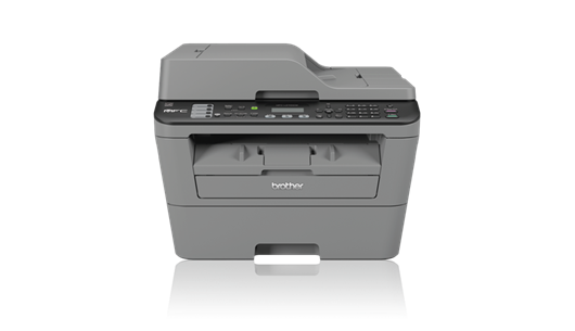 Brother MFC-L2700DW Compact Mono Laser All-In-One Printer + Wifi and Wired Network