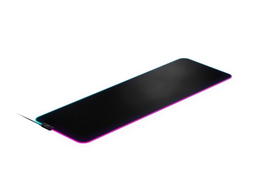 SteelSeries (XLarge) QcK Prism Illuminated Mouse Pad (Black)