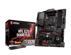 MSI MPG X570 GAMING PLUS AMD Motherboard