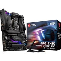 MSI MPG Z490 GAMING CARBON WIFI ATX Motherboard for Intel LGA1200