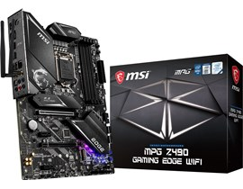MSI MPG Z490 GAMING EDGE WIFI Intel Motherboard