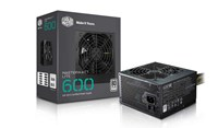 Cooler Master MasterWatt Lite 230V 600W Power Supply 80 Plus