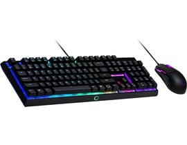 Cooler Master MS110 USB RGB LED Gaming Keyboard & Mouse Set with Mem-Chanical Switches