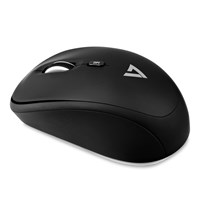 V7 Wireless Mobile Optical Mouse - Black