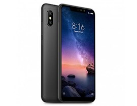 Xiaomi Redmi Note 6 Pro Smart Phone, 6.26 inch Display, 4G LTE, 3GB RAM, 32GB Storage, Android 8.1 Oreo (Black)