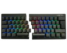 Mistel Barocco RGB Illuminated Mechanical 60% Split Keyboard (Black) with Cherry MX Brown Switches
