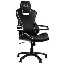 Nitro Concepts E200 Race Series Gaming Chair - Black/White