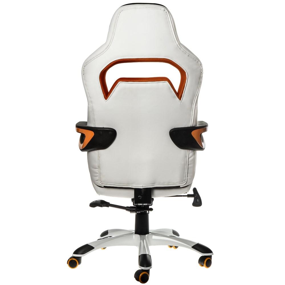 Nitro Concepts E220 Evo Series Gaming Chair White Orange