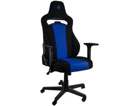 Nitro Concepts E250 Gaming Chair in Black and Blue